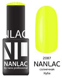 "NANLAC NL 2087 Солнечная Куба, 6 мл. - гель-лак ""Эмаль"" Nano Professional"