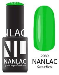 "NANLAC NL 2089 Санта-Круc, 6 мл. - гель-лак ""Эмаль"" Nano Professional"