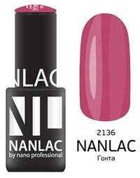 "NANLAC NL 2136 Гокта, 6 мл. - гель-лак ""Эмаль"" Nano Professional"