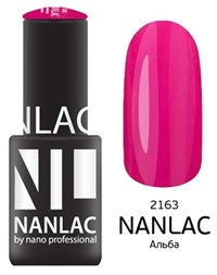"NANLAC NL 2163 Альба, 6 мл. - гель-лак ""Эмаль"" Nano Professional"