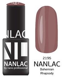 "NANLAC NL 2195 Bohemian Rhapsody, 6 мл. - гель-лак ""Эмаль"" Nano Professional"