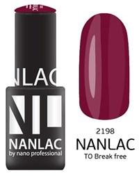 "NANLAC NL 2198 TO Break free, 6 мл. - гель-лак ""Эмаль"" Nano Professional"