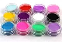 EzFlow Color Powder, 14гр. - цветная акриловая пудра для дизайна