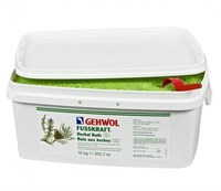 Gehwol Fusskraft Herbal Bath, 10 кг. - Травяная ванна, освежающее замачивание для ног