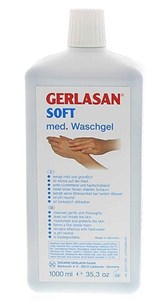 GEHWOL Gerlan Soft WashGel, 1000 мл. - Гель-мыло для рук Геволь Герлазан