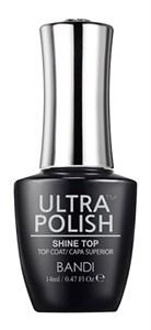 BANDI Ultra Polish Shine Top Coat, 14 мл. - топ для лака Банди Ультра полиш