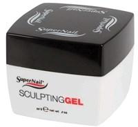 SuperNail Sculpting Gel Clear, 56 г. - прозрачный конструирующий гель для ногтей