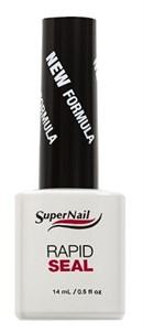 SuperNail Rapid Seal, 14 мл. - верхнее гелевое покрытие без липкого слоя
