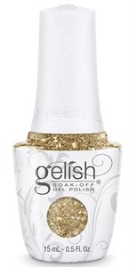 "Harmony Gelish Gel Polish All That Glitters Is Gold, 15 мл. - гель лак Гелиш ""Золотое сечение"""