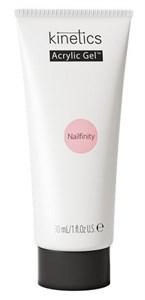 Kinetics Acrylic Gel Nailfinity PolyGel, 30 мл. - камуфлирующий розовый полигель для наращивания ногтей Кинетикс