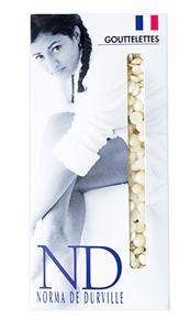 Norma de Durville White Recyclable Wax, 800 гр. - горячий плёночный воск в гранулах для эпиляции, аромат магнолии