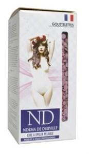 Norma de Durville Pelable Mauve Wax, 800 гр. - горячий плёночный воск в гранулах для эпиляции, фиолетовый