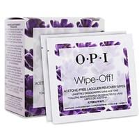 OPI Wipe-Off! Acetone-Free Lacquer Remover Wipes, 10 шт. - салфетки для снятия лака, без ацетона