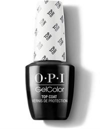OPI GelColor Top Coat, 15мл. - топ для гель лака GelColor