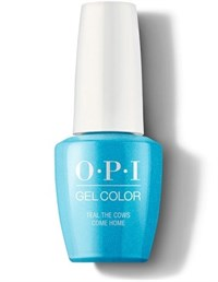 "GCB54 OPI GelColor ProHealth Teal the Cows Come Home, 15мл. - гель лак OPI ""Бирюзовое стадо вернулось"""