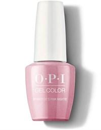"GCG01 OPI GelColor ProHealth Aphrodite's Pink Nightie, 15мл. - гель лак OPI ""Розовая ночнушка Афродиты"""
