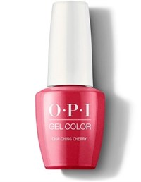 "GCV12 OPI GelColor ProHealth Cha-Ching Cherry, 15мл. - гель лак OPI ""Черешня"""