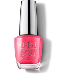 "ISLM23 OPI Infinite Shine Strawberry Margarita, 15 мл. - лак для ногтей ""Клубничная Маргарита"""