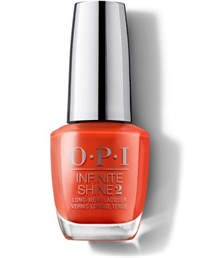 "ISLL22 OPI Infinite Shine A Red-vival City, 15 мл. - лак для ногтей ""Город Возрождения"""