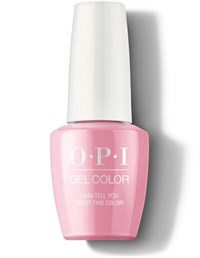 "GCP30 OPI GelColor ProHealth Lima Tell You About This Color!, 15мл. - гель лак OPI ""Лима расскажет о цвете"""