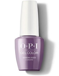 "GCP35 OPI GelColor ProHealth Grandma Kissed A Gaucho, 15 мл. - гель лак OPI ""Бабушка поцеловала Гаучо"""
