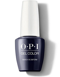 "HPK04 OPI GelColor ProHealth March In Uniform, 15 мл. - гель лак OPI ""Марш в форме"""