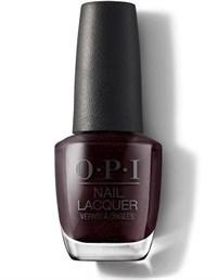 """HRK12 OPI Black to Reality, 15 мл. - лак для ногтей OPI """"Чёрный к реальности"""""""