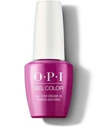"GCT84 OPI GelColor ProHealth All Your Dreams in Vending Machines, 15 мл. - гель лак OPI ""Все, что хочешь в автоматах"""