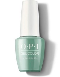 "GCT87 OPI GelColor ProHealth I'm On a Sushi Roll, 15 мл. - гель лак OPI ""Я на суши-ролле"""