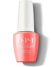 "GCN71 OPI GelColor ProHealth Orange You a Rock Star?, 15 мл. - гель лак OPI ""Апельсин, ты рок-звезда?"""