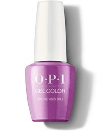 """GCN73 OPI GelColor ProHealth Positive Vibes Only, 15 мл. - гель лак OPI """"Только положительные вибрации"""""""