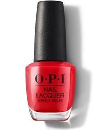 "NLU13 OPI Red Heads Ahead, 15 мл. - лак для ногтей OPI ""Красные головы первые"""