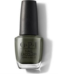 "NLU15 OPI Things I've Seen in Aber-green, 15 мл. - лак для ногтей OPI ""Что я видел в Абергрине"""