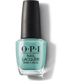 """NLM84 OPI Verde Nice to Meet You, 15 мл. - лак для ногтей OPI """"Верде рада познакомиться"""""""