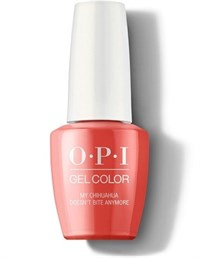 "GCM89 OPI GelColor ProHealth My Chihuahua Doesn't Bite Anymore, 15 мл. - гель лак OPI ""Мой чихуахуа больше не кусается"""
