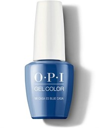 "GCM92 OPI GelColor ProHealth Mi Casa Es Blue Casa, 15 мл. - гель лак OPI ""Мой дом - синий"""