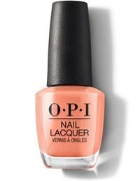 NLW59 OPI Freedom Of Peach, 15 мл. - лак для ногтей OPI «Свободу персику»