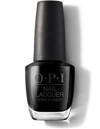 NLT02 OPI Lady In Black, 15 мл. - лак для ногтей «Девушка в чёрном»