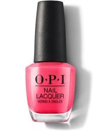 NLM23 OPI Strawberry Margarita, 15 мл. - лак для ногтей «Клубничная Маргарита»