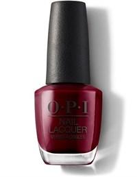 NLL87 OPI Malaga Wine, 15 мл. - лак для ногтей «Вино из Малаги»