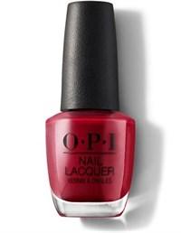 NLL72 OPI Red, 15 мл. - лак для ногтей «Красный от OPI»