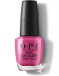 NLL19 OPI No Turning Back From Pink Street, 15 мл. - лак для ногтей OPI «Не вернемся с розовой улицы»