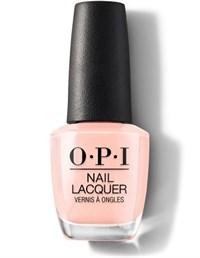 "NLL12 OPI Coney Island Cotton Candy, 15 мл. - лак для ногтей OPI ""Сахарная вата"""