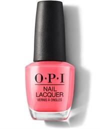 NLI42 OPI ElePhantastic Pink, 15 мл. - лак для ногтей «Фантастический розовый»