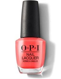 NLH43 OPI Hot & Spicy, 15 мл. - лак для ногтей «Горячий и Пряный»