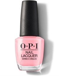 "NLH38 OPI I Think In Pink, 15 мл. - лак для ногтей OPI ""Я думаю в розовом"""