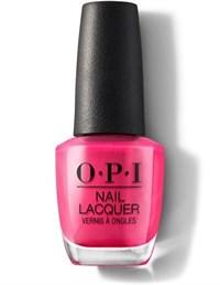 NLE44 OPI Pink Flamenco, 15 мл. - лак для ногтей «Розовый фламенко»