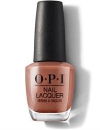 """NLC89 OPI Chocolate Moose, 15 мл. - лак для ногтей OPI """"Шоколадный лось"""""""