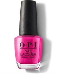 NLA20 OPI La Paz-itively Hot, 15 мл. - лак для ногтей «Горячий розовый»