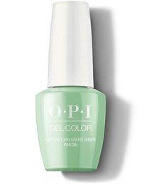 "GC103A OPI GelColor ProHealth Gargantuan Green Garpe (Pastels), 15 мл. - гель лак OPI ""Зеленый виноград"""